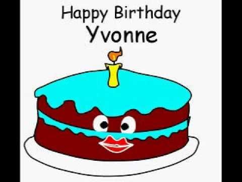 Happy Birthday Yvonne Cakes