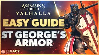 ST GEORGE'S GEAR SET - BEST FARMING METHOD | ALL RIVER RAID LOCATIONS - ASSASSIN'S CREED VALHALLA