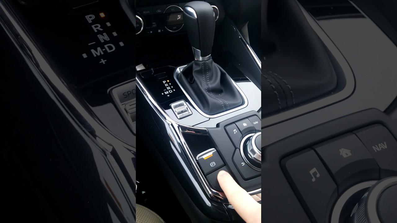 Mazda Electronic Parking Brake Tutorial Youtube