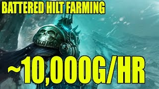 WoW How To Gold Guide Great Farming Spot Battered Hilt