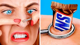 Girls Tried Police Academy! How to Sneak Candies into Police Academy