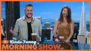 Tim and Gia Host Together! - The Kinda Funny Morning Show 07.06.18