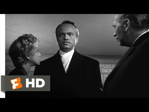 Citizen Kane - Gettys Blackmails Kane Scene (6/10) | Movieclips