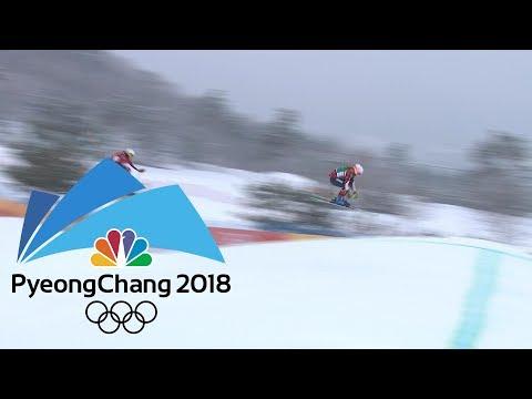 2018 Winter Olympics I Ladies' Ski Cross in 360 VR