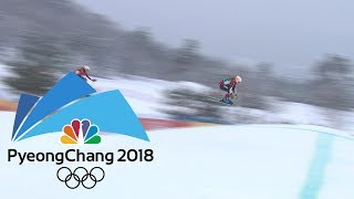 2018 Winter Olympics I Ladies' Ski Cross in 360 VR