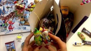 видео: Новогодние подарки из конфет