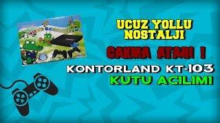 UCUZ YOLLU NOSTALJİ - ÇAKMA ATARI - Kontorland KT-103 Kutu Açılımı