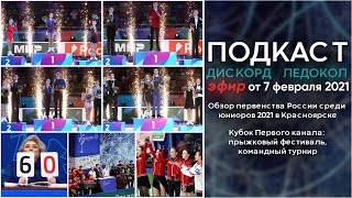 О Первенстве России среди юниоров 2021 и Кубке Первого канала