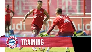 Goals, goals goals @ FC Bayern training