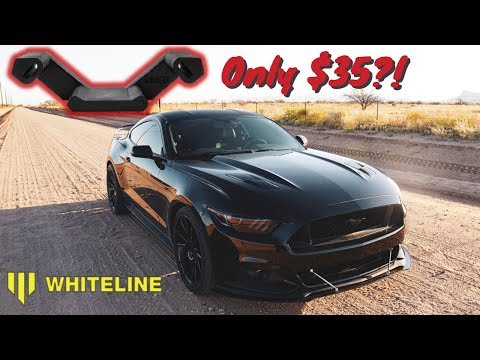 The EASIEST way to improve your manual Mustang GT shifts *Whiteline Transmission Insert*