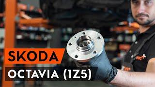 Montage SKODA OCTAVIA Combi (1Z5) Radlagersatz: kostenloses Video
