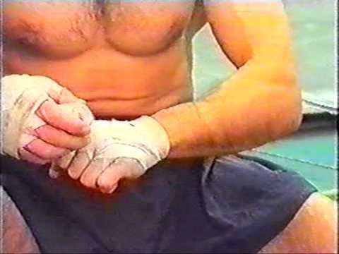 Бинтование рук - Тайский бокс