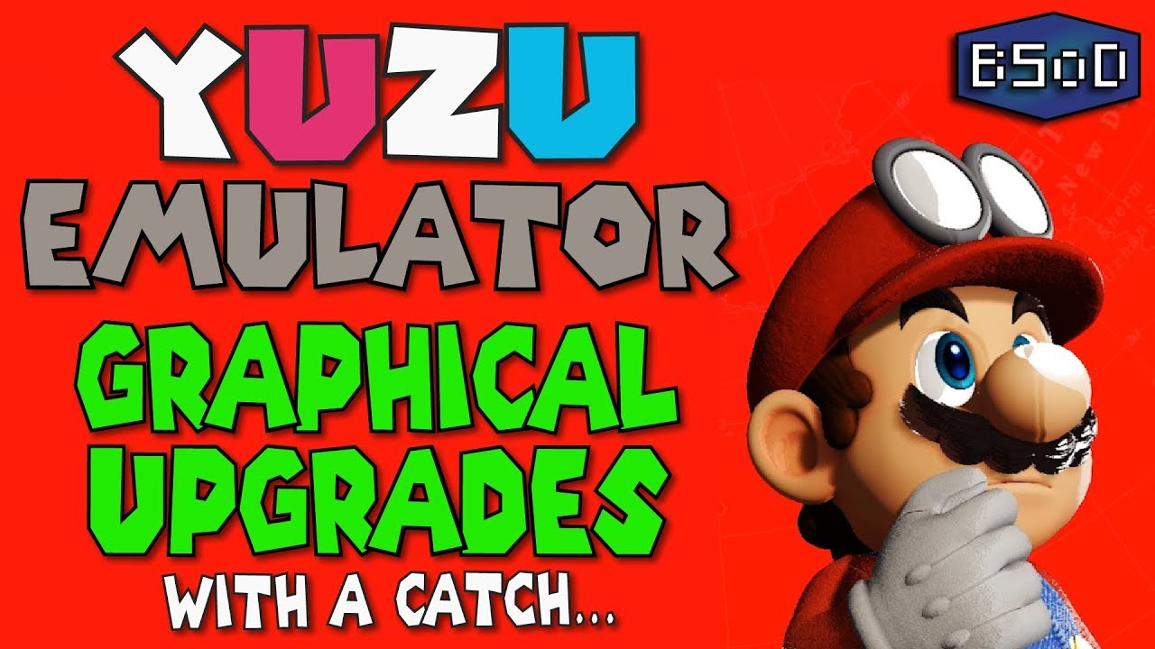 Graphical Improvements in Super Mario Odyssey on Yuzu Emulator [Nintendo  Switch Emulation]