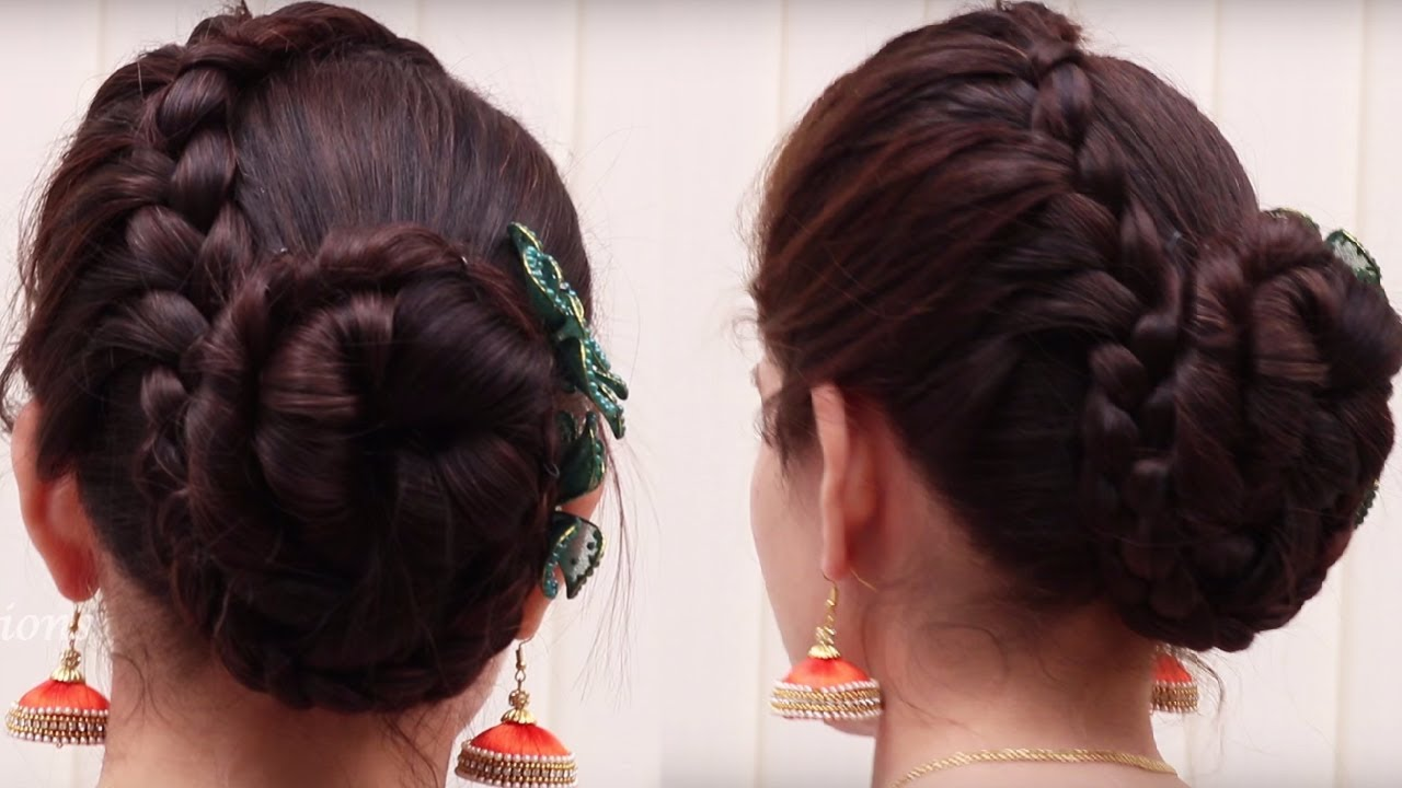 Latest Bun Hairstyle For Long Hair Hair Style For