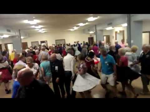 Square Dance in St. Louis, Missouri for Singles & Doubles with Tom Roper square dance caller