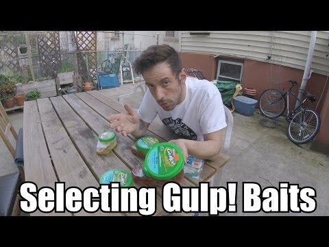 Selecting Berkeley Gulp! Baits For Summer Flounder (Fluke) Fishing