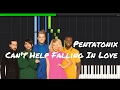 Can T Help Falling In Love Pentatonix