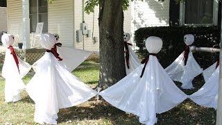 Sunday 10-27-13 Vlog & Outdoor Halloween Decorations
