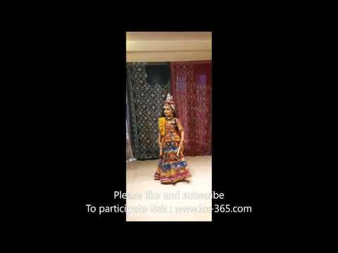 Dandiya dance by cute little girl