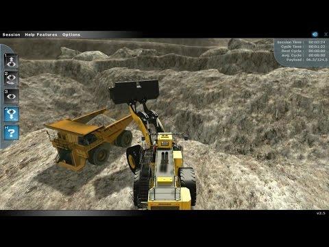 Front-End Wheel Loader Training Simulator Promotion Video