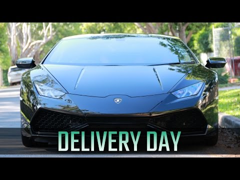 TAKING DELIVERY OF MY LAMBORGHINI HURACAN
