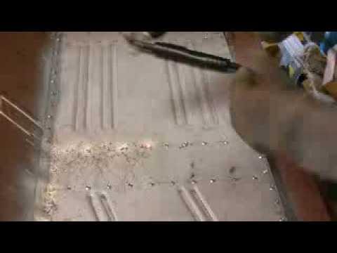 Floor Pan - plug welding