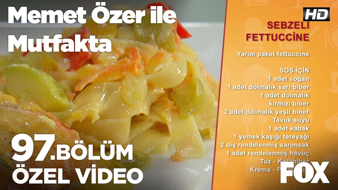 Mantarlı Tavuklu Fettucini Tarifi Videosu