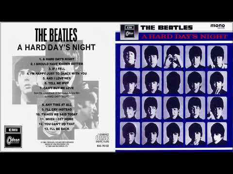 A Hard Day's Night The Beatles Full Album 1964 (HD)