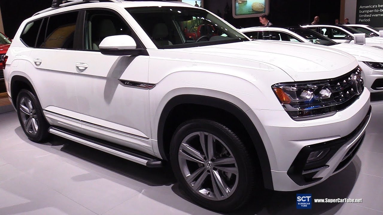 2018 Volkswagen Atlas R Line Exterior And Interior Walkaround New York Auto Show