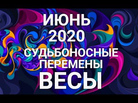 ВЕСЫ♎❤. Таро-прогноз ИЮНЬ 2020. Гороскоп Весы/Tarot Horoscope Libra JUNE✨ © Ирина Захарченко.