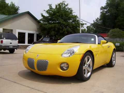 2007 pontiac solstice convertible with 10k miles at prestige auto sales in ocala youtube. Black Bedroom Furniture Sets. Home Design Ideas