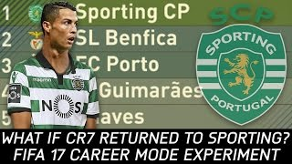 What if Cristiano Ronaldo returned to Sporting? - FIFA 17 Experiment