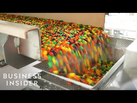 Inside One Of The Only Skittles Factories In The US