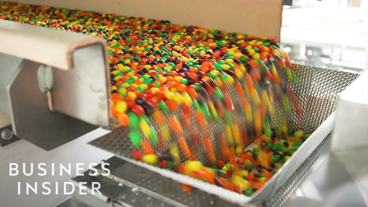 Inside One Of The Only Skittles Factories In The Us Youtube