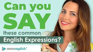 How To Say Common English Expressions! | 💬 Small Talk PART 1