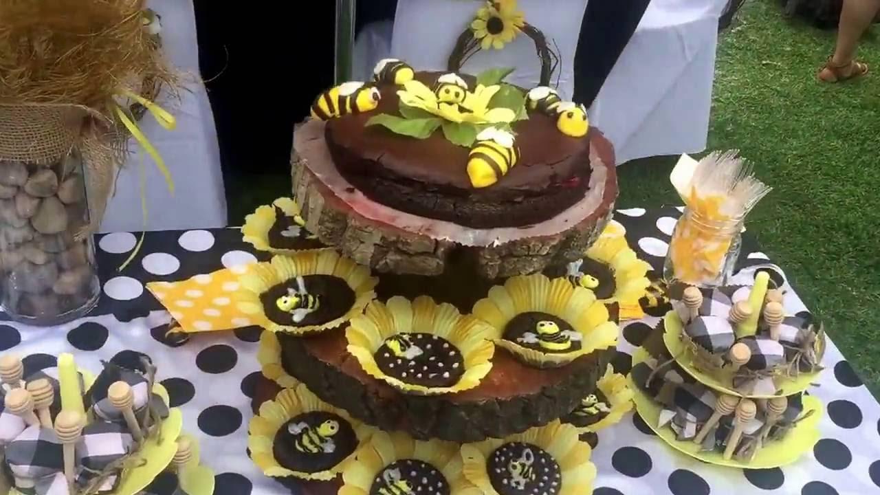 Decor DIY Baby Shower Bee Theme Idas