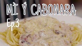 Ngòn ngon in The Kitchen #3  Nấu MÌ Ý CARBONARA cùng bạn thân :)   Dinology