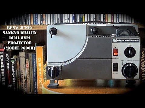 Oddity Archive: Episode 139.5 – Ben's Junk: Sankyo Dualux Dual8 Projector (Model 2000H)