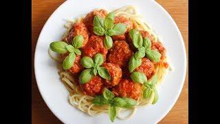 Котлеты в томатном соусе по-итальянски.