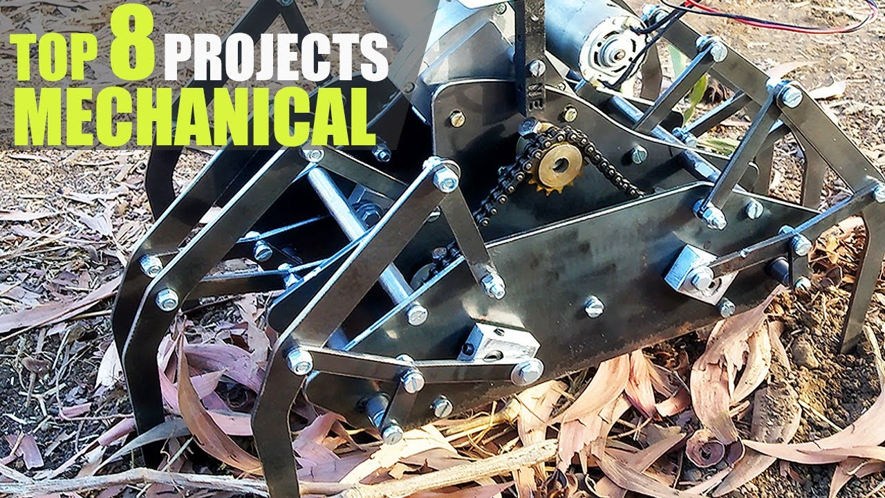 Top 8 Best Mechanical Engineering Projects For 2020 Youtube