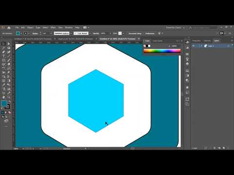3rd Logo Design Tutorial : How to make a Logo in Adobe Illustrator CC thumbnail