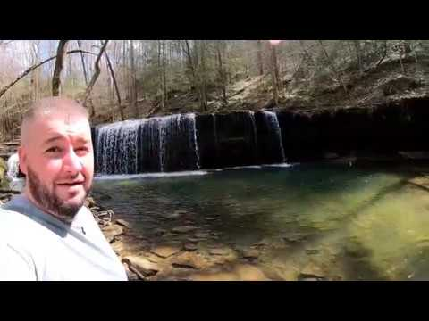 Playing Around & Feeding Bigfoot At Princess Falls In Whitley City Kentucky