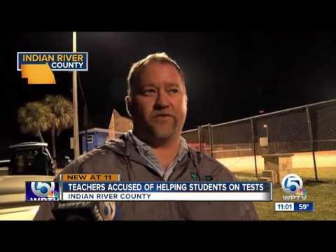 Vero Beach High School teachers accused of helping students on tests
