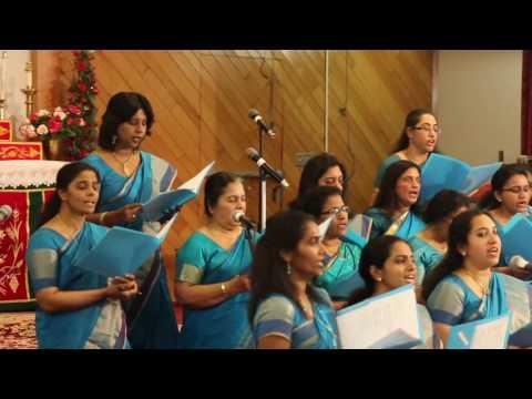 New Jersey Sevika Sangham  Chirstmas Carol 2016   Song 2