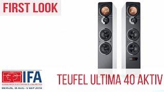 Teufel Ultima 40 Aktiv - First Look #IFA2018 (Deutsch)