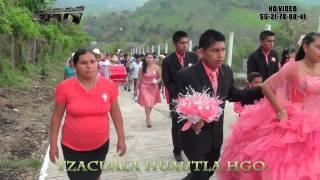 TZACUALA HUAUTLA HGO. XV DE DIANA LINA