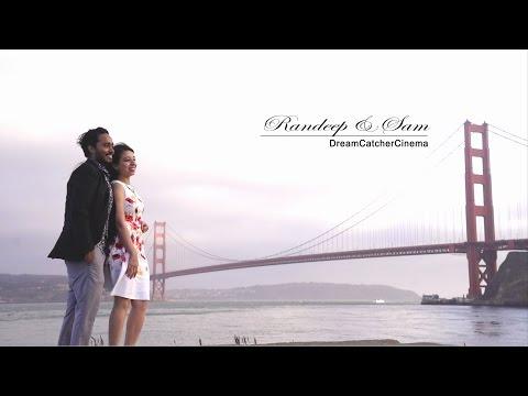 Dreams Do Come True | Randeep & Sam | Reception Cinematic Highlights | Fremont, California