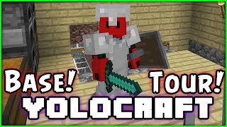 YOLOCRAFT - MINECRAFT - Season 6 - Episode 23 - Base Showcase!