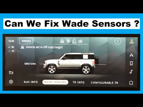 After no joy at the dealers we try and fix the wade sensors on our new Land Rover Defender 2020