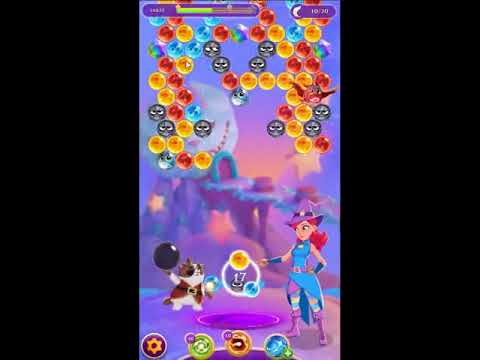 Bubble Witch Saga 3 Level 521 - NO BOOSTERS 🐈